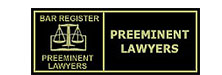 Bar Register Preeminent Lawyers | Preeminent Lawyers